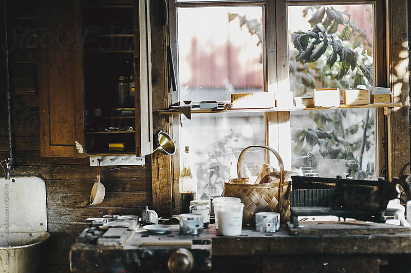 Antique Workshop  by Ryan Ahern for Stocksy United
