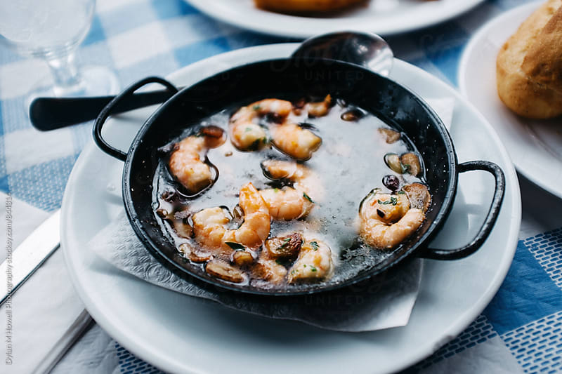 Shrimp in Oil by Dylan M Howell Photography for Stocksy United