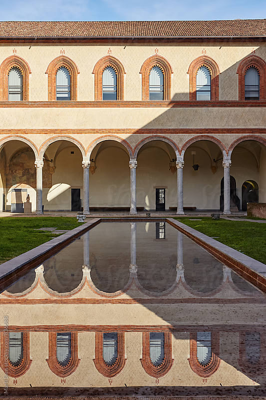 Castello Sforzesco(back yard) by Martí Sans for Stocksy United
