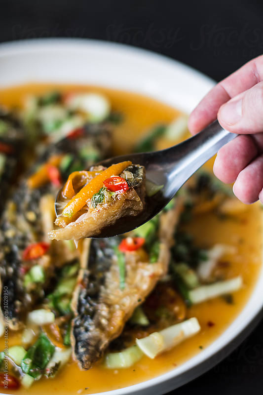 Thai style mackerel  by KEMA Food Culture for Stocksy United