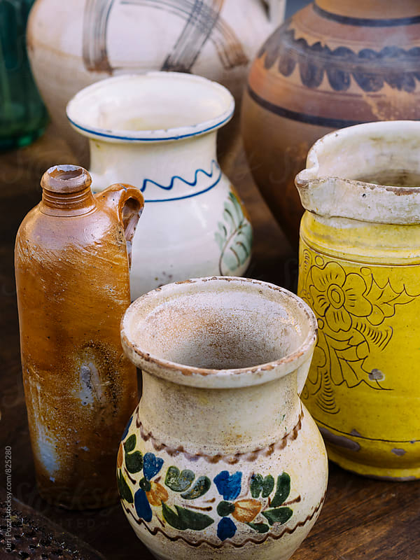 Vintage pottery by Juri Pozzi for Stocksy United