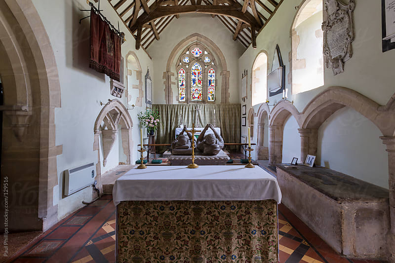 Interior of an 11th century Church. England,UK by Paul Phillips for Stocksy United