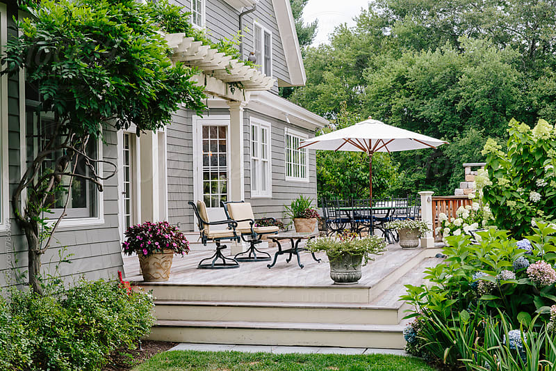 Summer Porch by Raymond Forbes LLC for Stocksy United