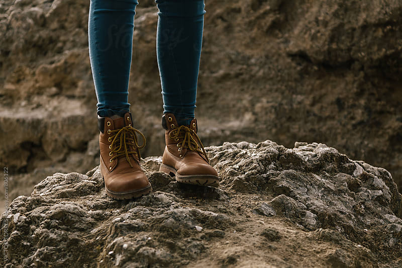 Woman's Kiking Boots by VICTOR TORRES for Stocksy United