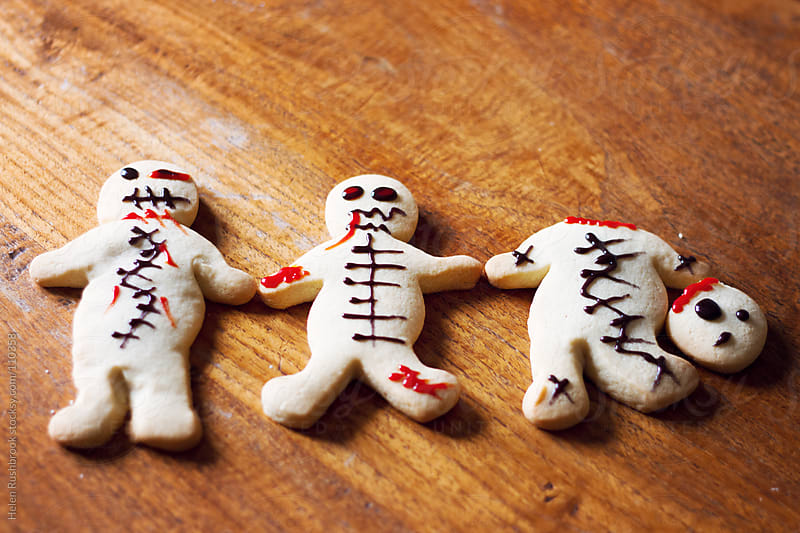 Zombie cookies by Helen Rushbrook for Stocksy United