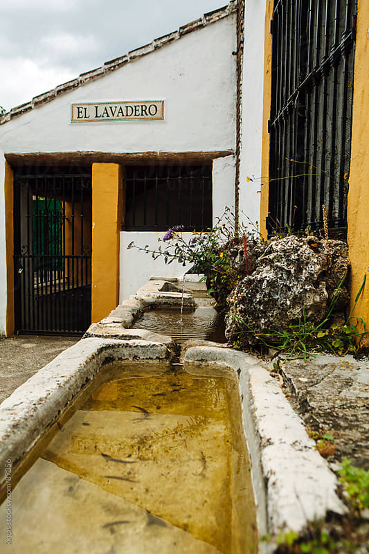 Communal washing in a small village in Andalucia Spain.  by kkgas for Stocksy United