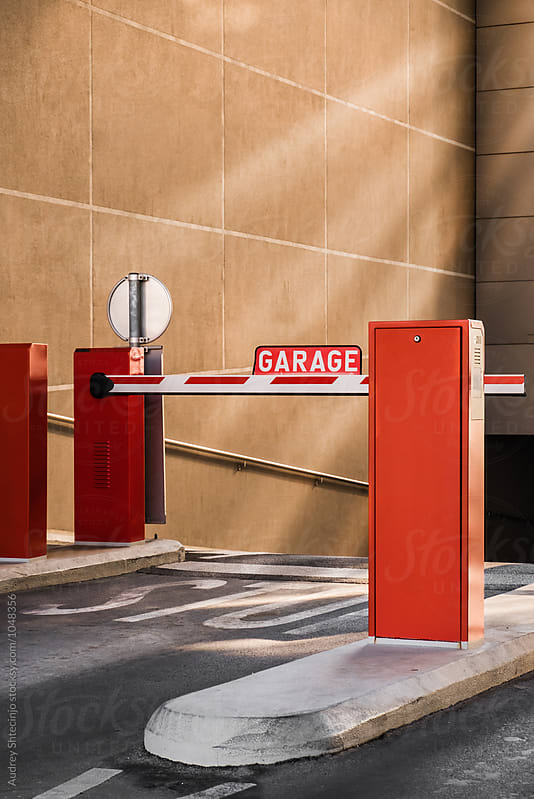 Garage barier /ramp by Marko Milanovic for Stocksy United