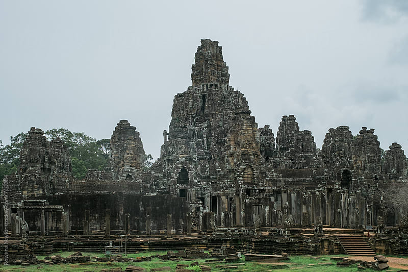 Bayon Temple, Siem Reap, Cambodia by Rowena Naylor for Stocksy United
