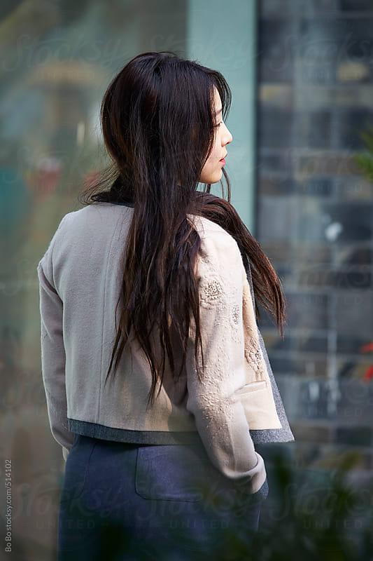 fashion model in street  by Bo Bo for Stocksy United