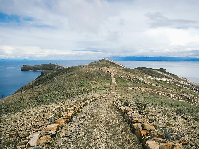 A path on the island by Aleksandra Jankovic for Stocksy United