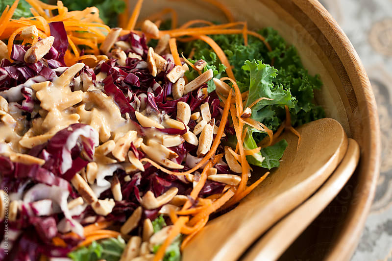 Winter Kale Salad by Jill Chen for Stocksy United
