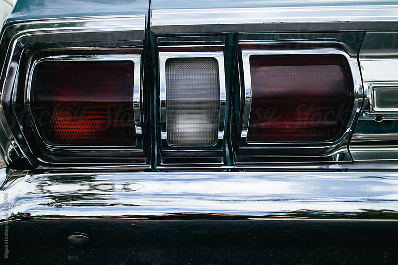 Detail from a classic American car. by kkgas for Stocksy United