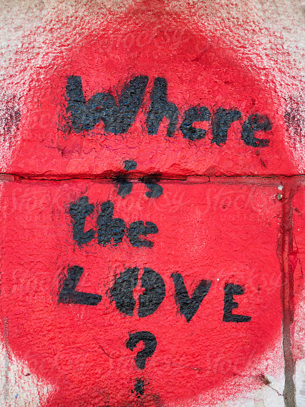 Where is the love sign by Pixel Stories for Stocksy United