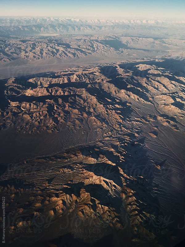 American Mountains from the Sky by B. Harvey for Stocksy United