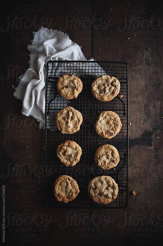Chocolate  Chip cookies by Melanie DeFazio for Stocksy United