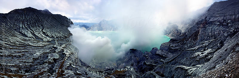 Mount Ijen Crater by Jason Denning for Stocksy United