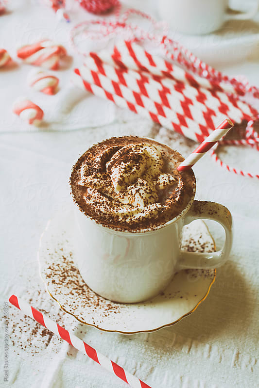 Hot chocolate by Pixel Stories for Stocksy United