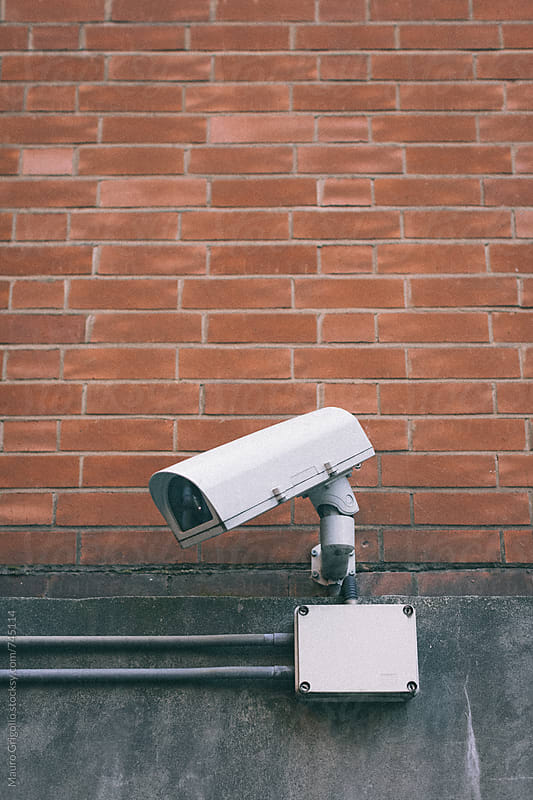 Security Camera by Mauro Grigollo for Stocksy United
