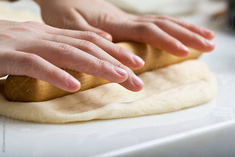 Rolling Dough by Jill Chen for Stocksy United