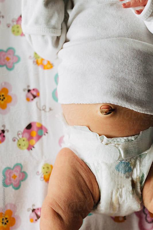 Newborn Belly by Jessica Byrum for Stocksy United