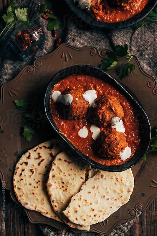 Indian Malai Kofta by Nataša Mandić for Stocksy United