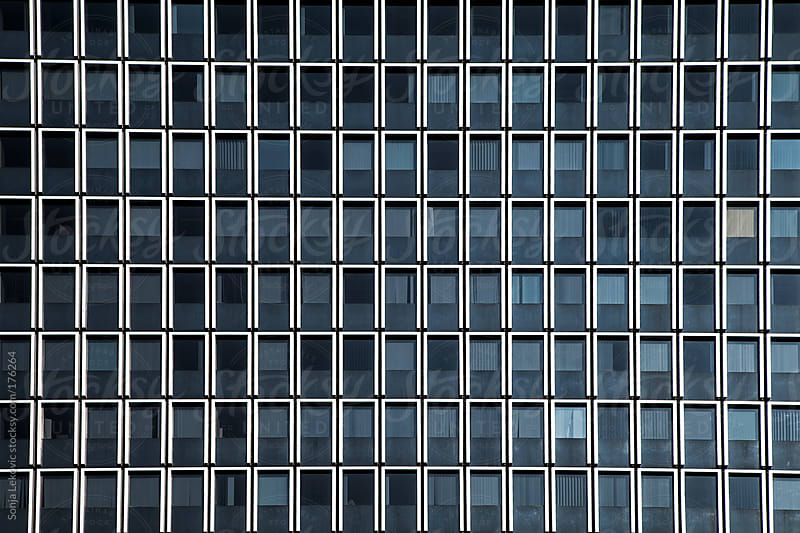 office building glass windows background by Sonja Lekovic for Stocksy United