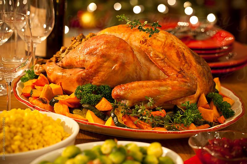 Turkey Dinner by Jill Chen for Stocksy United