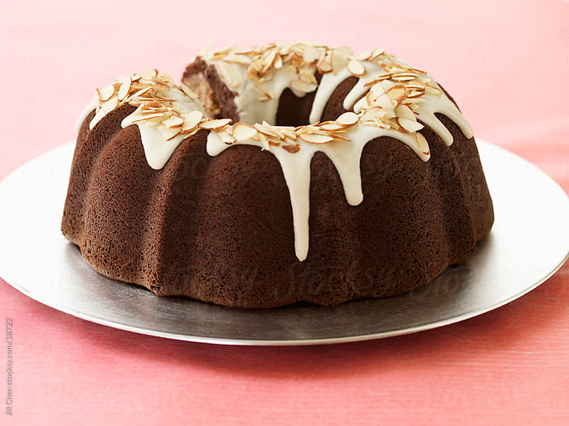 Chocolate Bundt Cake by Jill Chen for Stocksy United