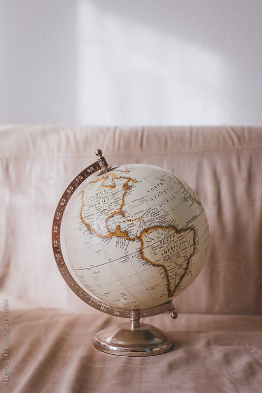 A world globe by Mauro Grigollo for Stocksy United