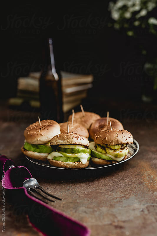 Vegetarian sandwiches by Tatjana Ristanic for Stocksy United