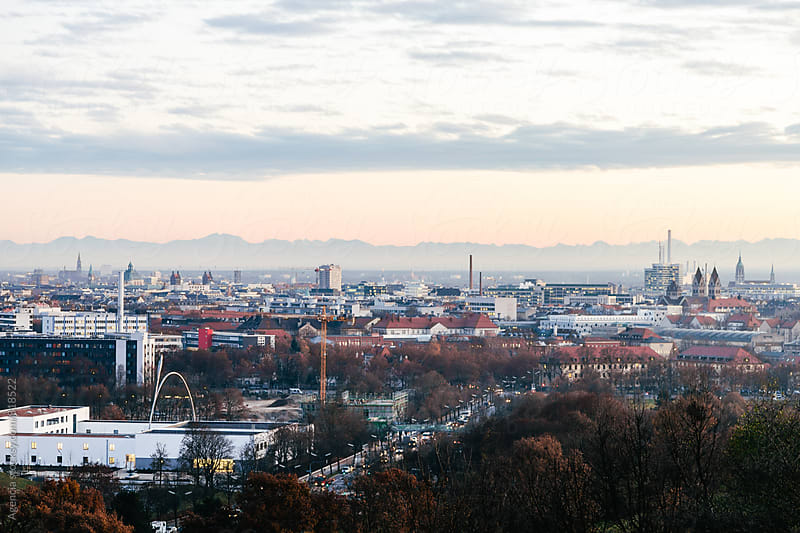 Munich Sunset by Agencia for Stocksy United