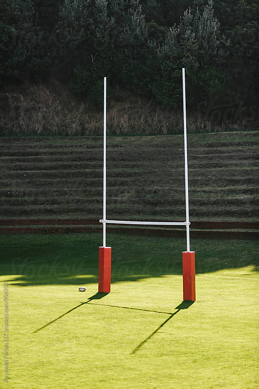 Rugby Pitch by Raymond Forbes LLC for Stocksy United