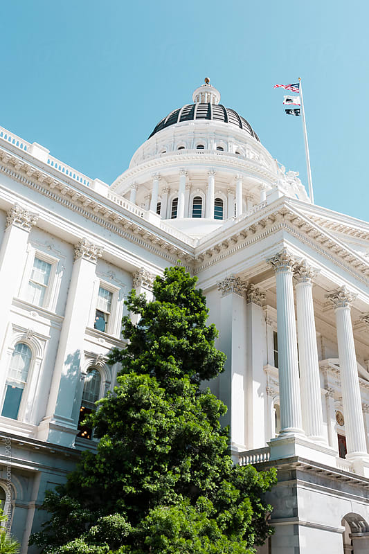 Details of the capitol, Sacramento, CA by Lilly Bloom for Stocksy United