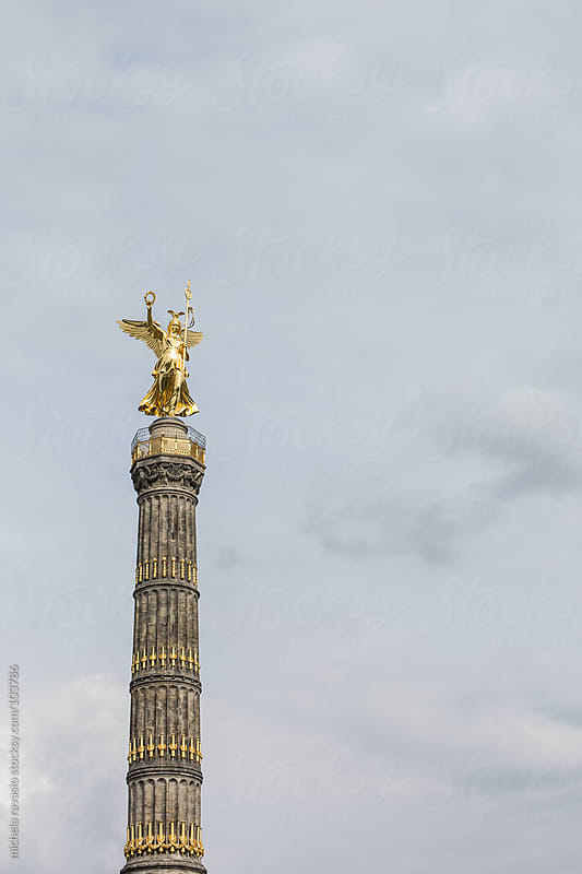 Victory Column in Berlin, Germany by michela ravasio for Stocksy United