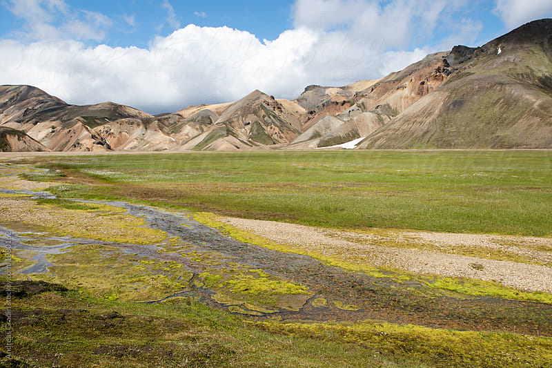 Landmannalaugar, Iceland by Andreas Gradin for Stocksy United