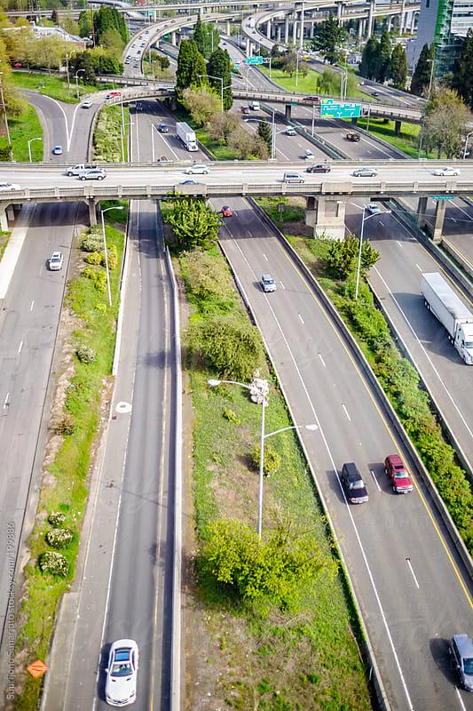 Aerial view of Portland Oregon by Suprijono Suharjoto for Stocksy United