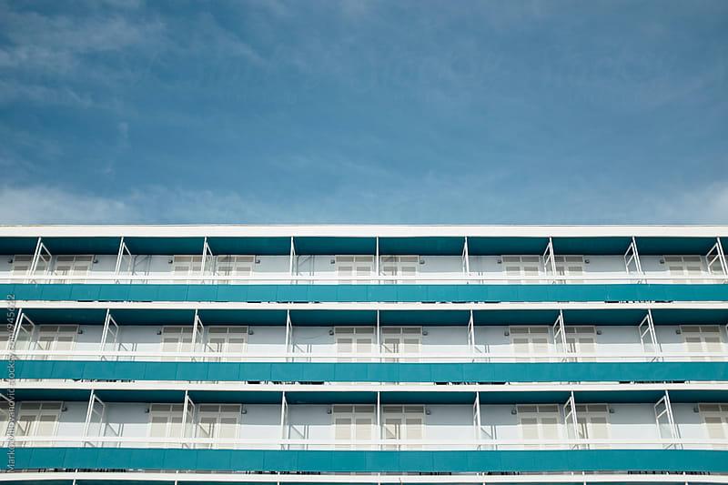 Old seaside hotel by Marko Milovanović for Stocksy United