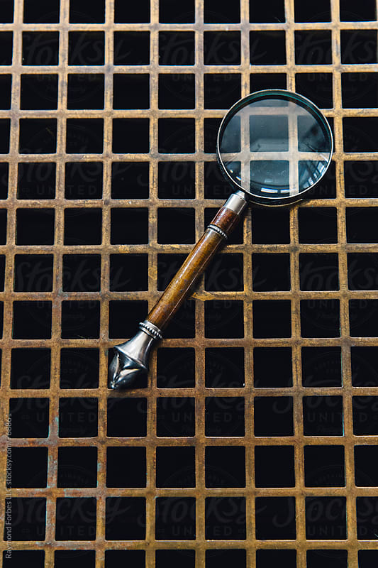 Antique Magnifying Glass by Raymond Forbes LLC for Stocksy United