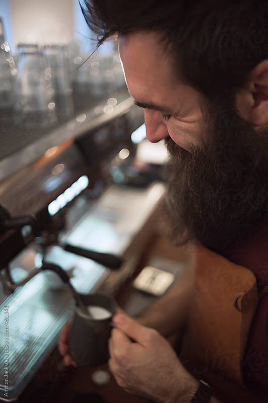 Coffee Making by Anthon Jackson for Stocksy United