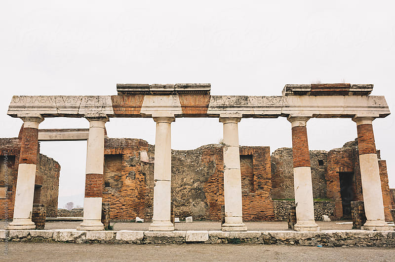 Ruins of Pompeii by Aleksandar Novoselski for Stocksy United