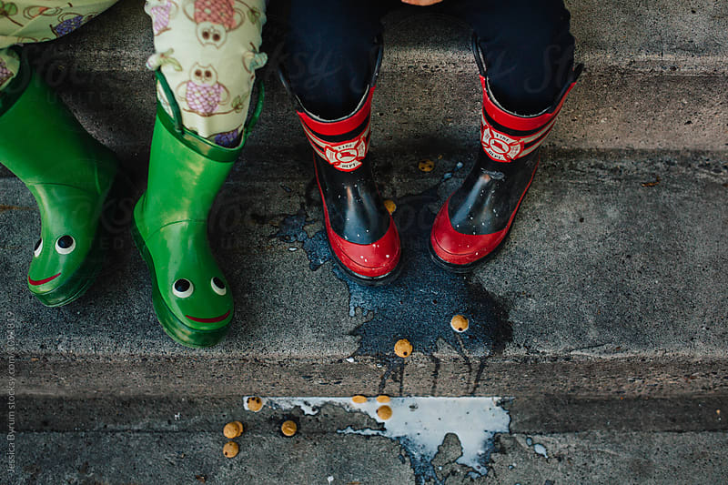 Spilled Milk by Jessica Byrum for Stocksy United