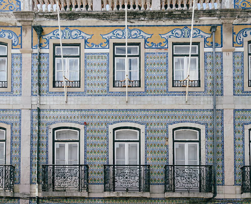 Lisbon Facade by Agencia for Stocksy United