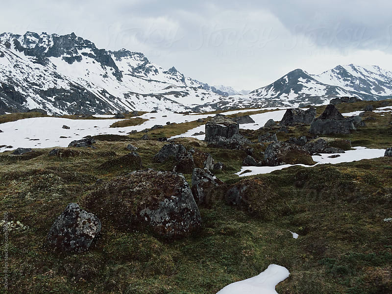 Snowy Mountains by Kevin Russ for Stocksy United