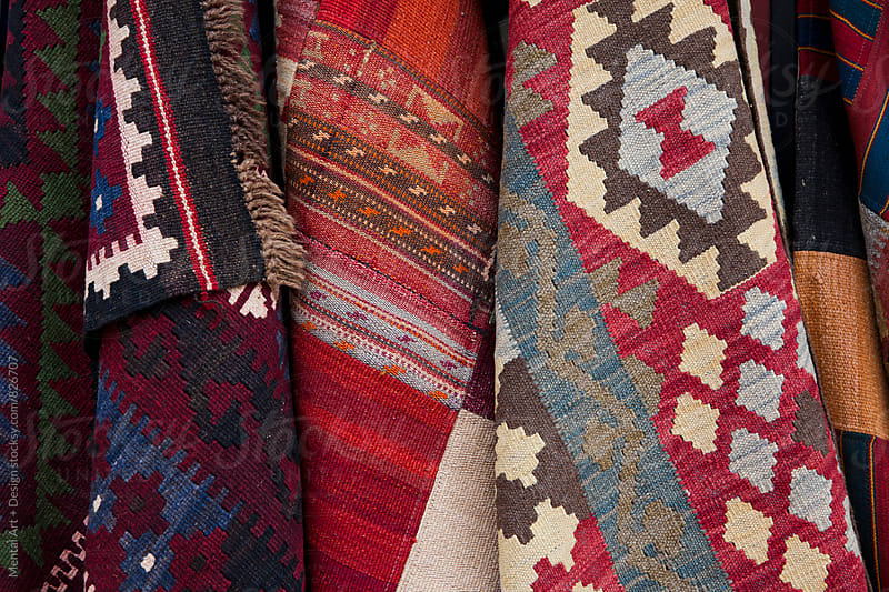 Kilim Rug by Mental Art + Design for Stocksy United