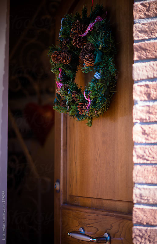 christmas wreath by Laura Adani for Stocksy United