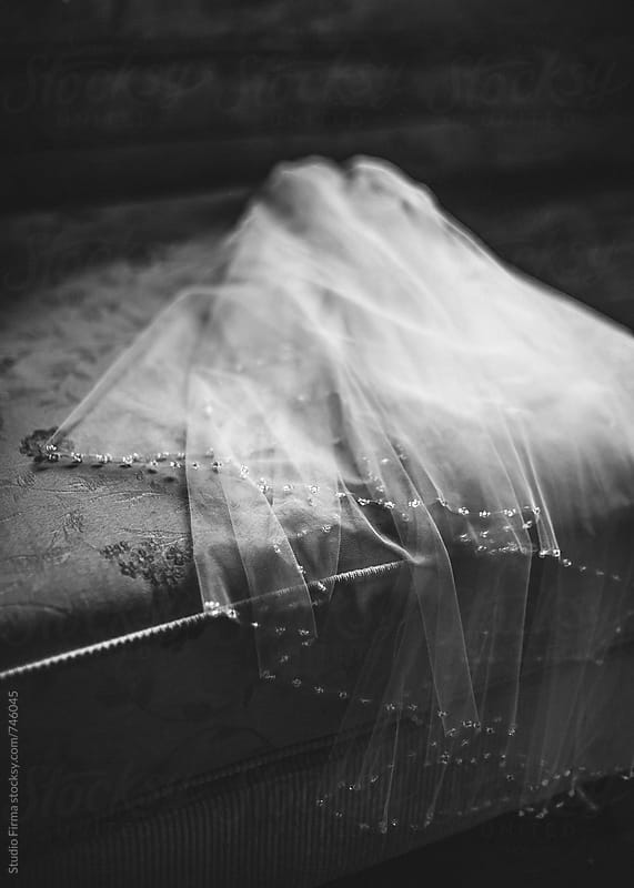 Wedding veil. by Studio Firma for Stocksy United