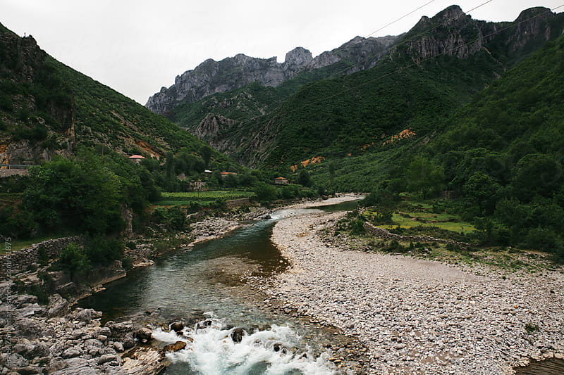 Creek in the mountains of Albania by Freek Zonderland for Stocksy United
