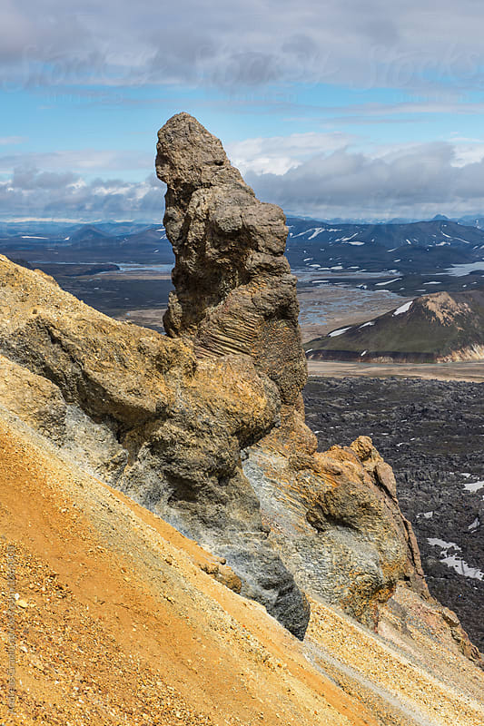 Landmannalaugar Iceland by Andreas Gradin for Stocksy United