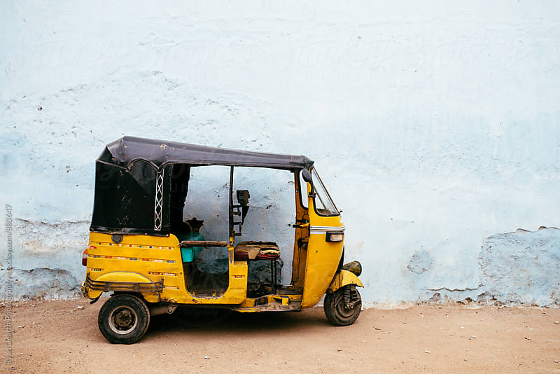 Auto Rickshaw by Ryan Dearth Photography for Stocksy United