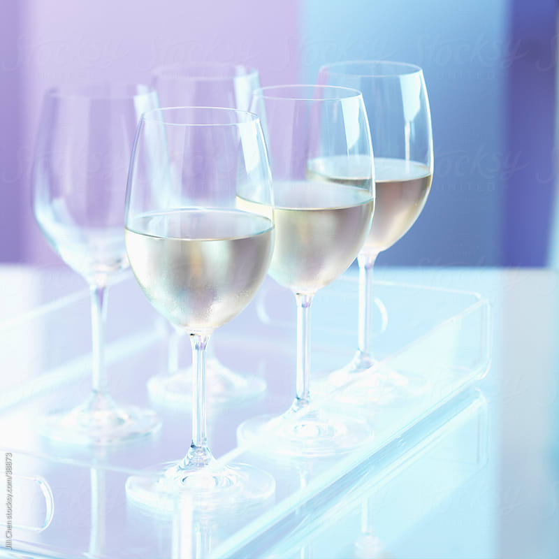 Chilled White Wine by Jill Chen for Stocksy United